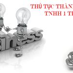Thành lập công ty TNHH 1 thành viên tại Vĩnh Phúc