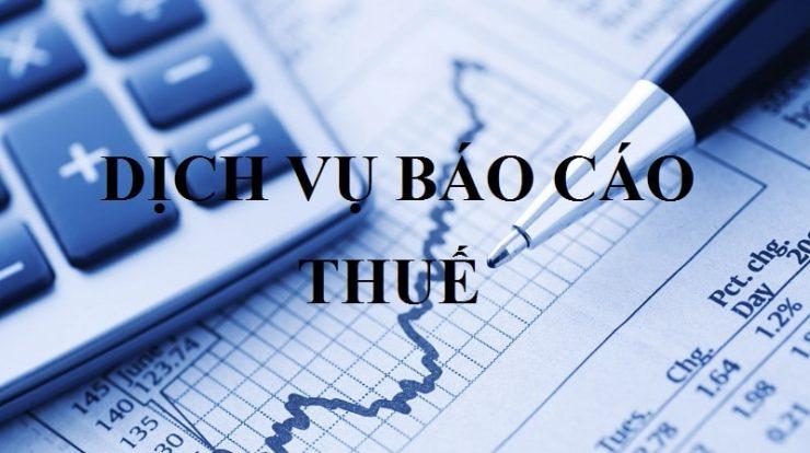 Báo cáo thuế, tài chính tháng quý năm tại Vĩnh Phúc view 2