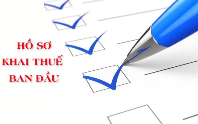Kê khai thuế ban đầu cho doanh nghiệp tại Vĩnh Phúc View 1